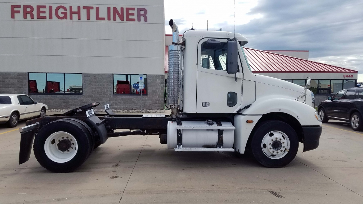 freightliner axle columbia single 2005